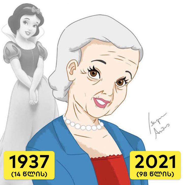 ნახეთ: როგორები იქნებოდნენ Disney-ს მშვენიერი პრინცესები 2021 წელს